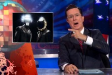 Stephen Colbert Explains What Really Happened With Daft Punk