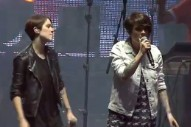 Watch Tegan And Sara Join Macklemore At Osheaga