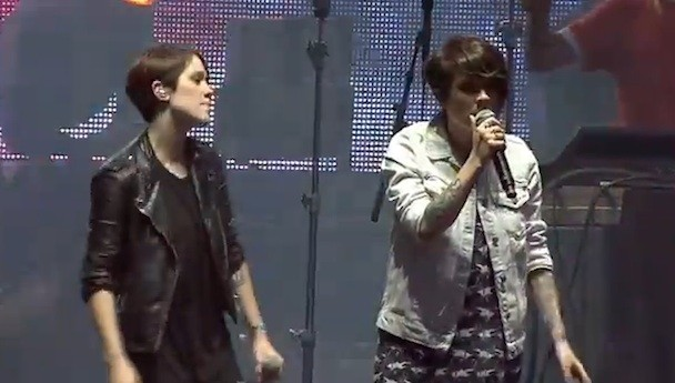 Tegan and Sara at Osheaga