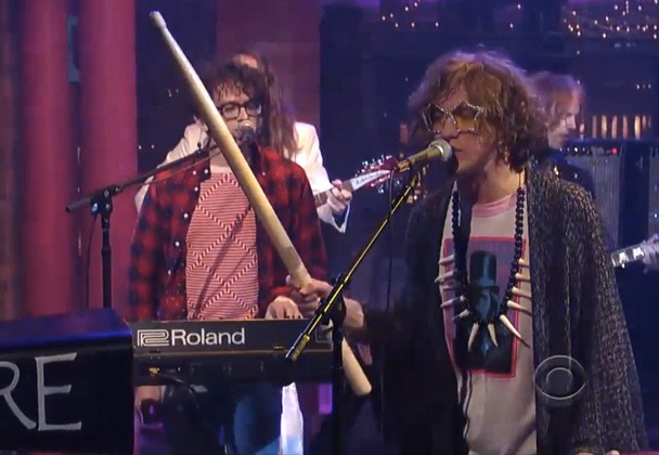 MGMT On Letterman 2013