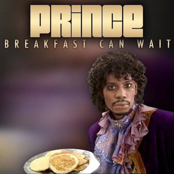 Prince - Breakfast Can Wait cover