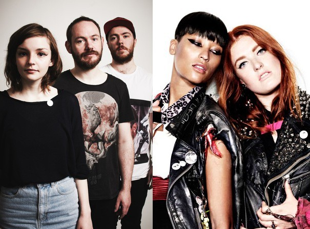 Chvrches Icona Pop