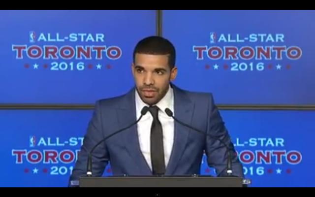Drake Toronto Raptors Press Conference
