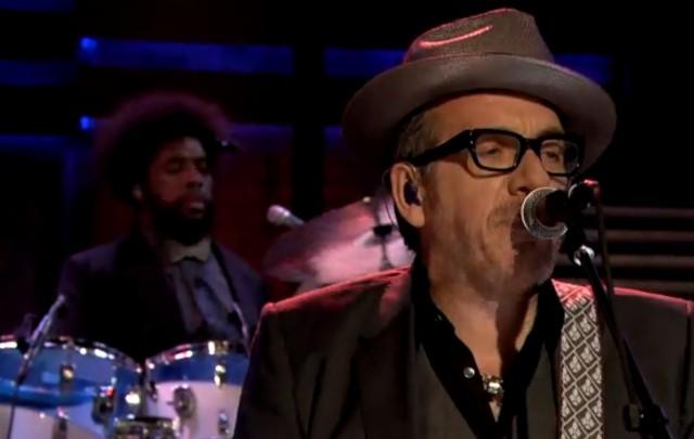 Elvis Costello & The Roots on Fallon
