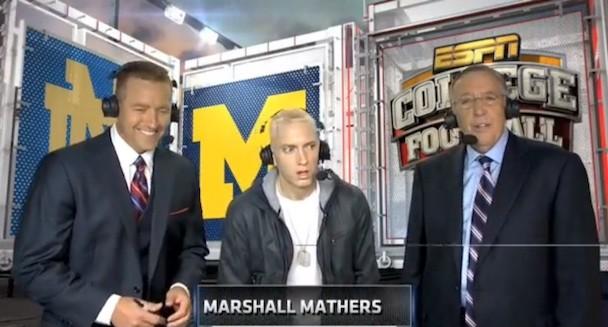 Eminem on ESPN