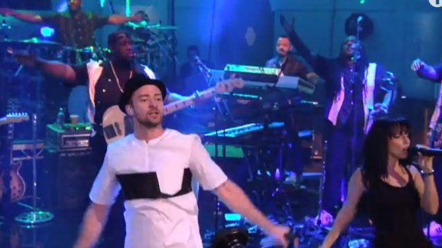 Justin Timberlake on BBC Radio 1
