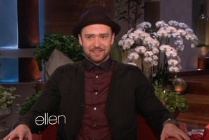 Justin Timberlake on Ellen