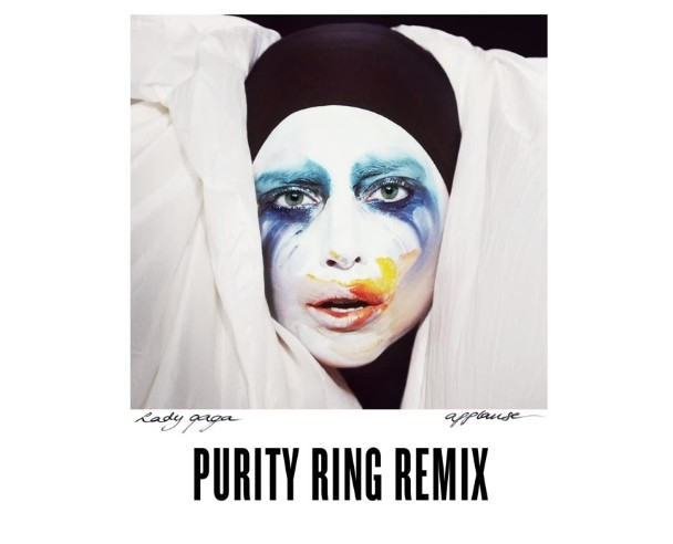 "Lady Gaga – ""Applause (Purity Ring Remix)"""