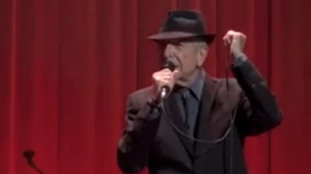 """Watch Leonard Cohen Debut """"I've Got A Secret"""" In Dublin"""