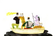 Stream Man Man <em>On Oni Pond</em>