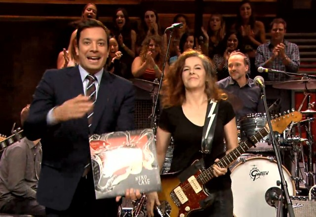 Neko Case on Fallon