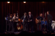 Watch Elvis Costello And Adam Driver Sing &#8220;Please, Mr. Kennedy&#8221; At The <em>Inside Llewyn Davis</em> Tribute Concert