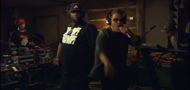 Watch Run The Jewels Perform At NYC's Log Cabin Studio For Myspace