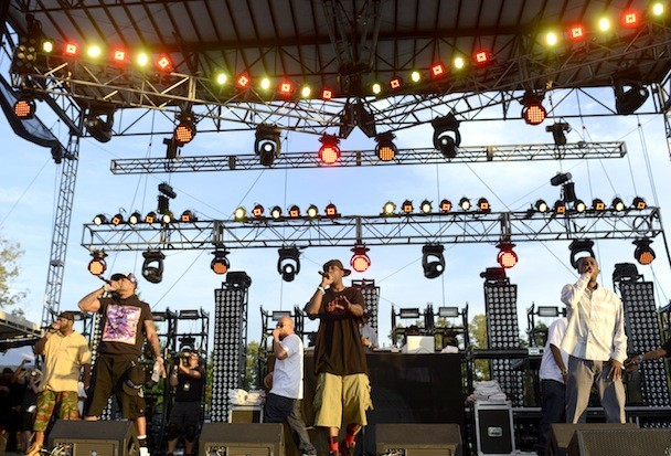 Wu-Tang at Bonnaroo