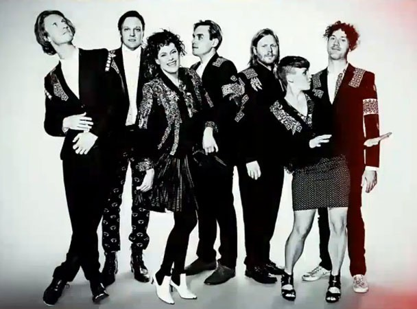 Arcade Fire Play SNL 2013