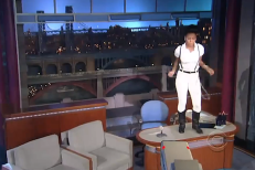 Watch Janelle Monáe Play Letterman