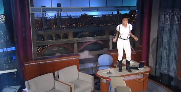 Watch Janelle Monáe Play Letterman