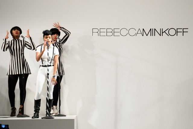Rebecca Minkoff Spring 2014 Runway Show in Collaboration with American Express UNSTAGED, Music by Janelle Monae