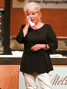 Paula Deen's First Public Appearance