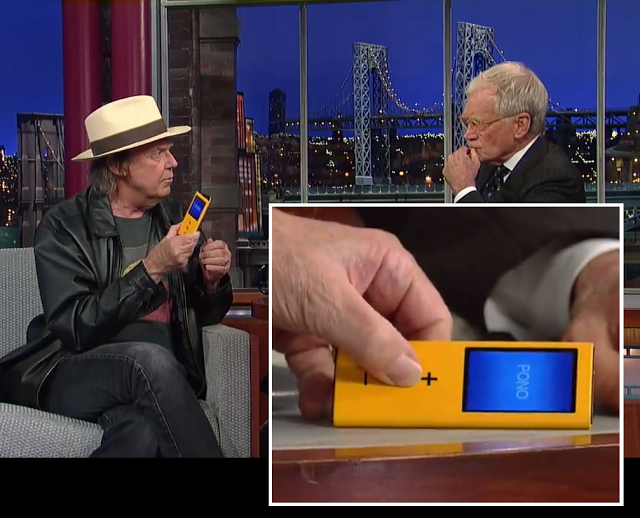 Neil Young's PONO Audio