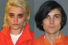 Sky Ferreira & Zachary Cole Smith Mugshots