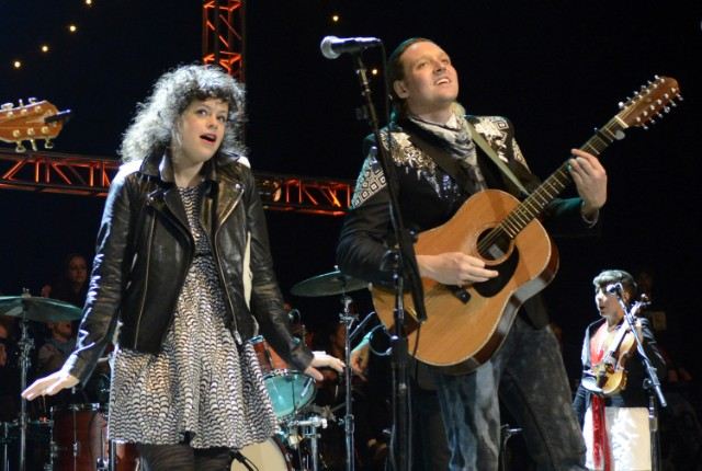 Arcade Fire @ Neil Young's Annual Bridge School Benefit