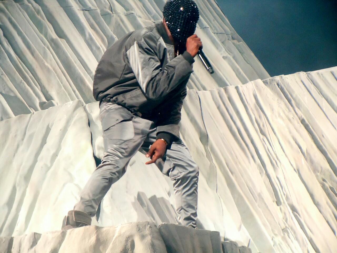 Kanye Finds Jesus At Yeezus Tour Opener In Seattle - Stereogum Kanye West Yeezus Concert