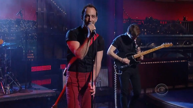 Albert Hammond Jr on Letterman