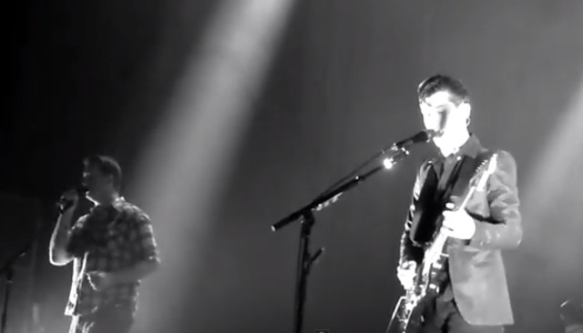Arctic Monkeys and Josh Homme