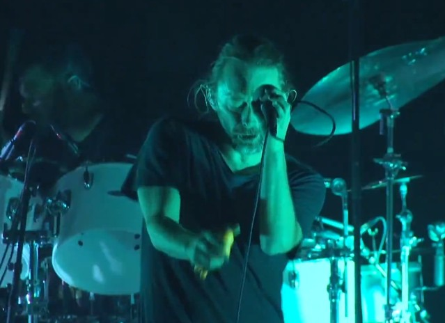 Atoms For Peace ACL makeup show