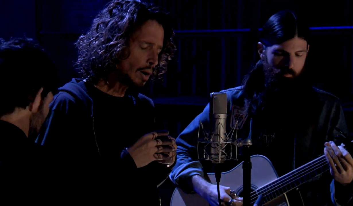 Watch Chris Cornell And The Avett Brothers Cover Pearl Jam On <em>Fallon</em>