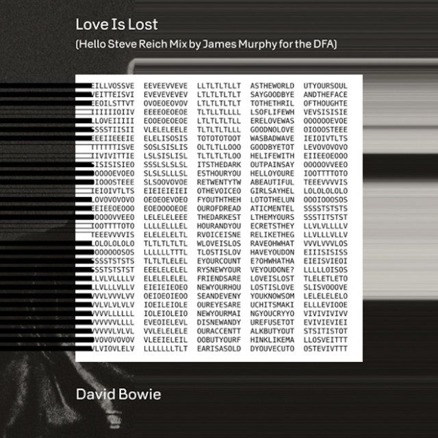 David Bowie - Love Is Lost remix