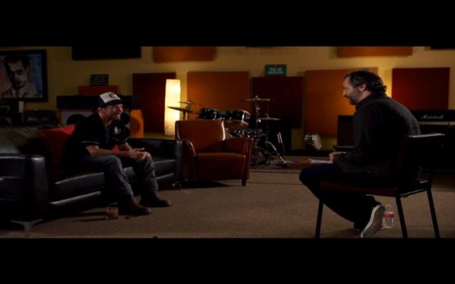 Eddie Vedder and Judd Apatow