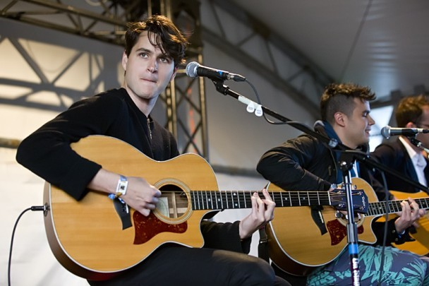Ezra Koenig at Sasquatch