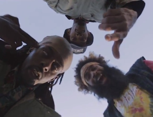 "Flatbush Zombies - ""Death"" video"