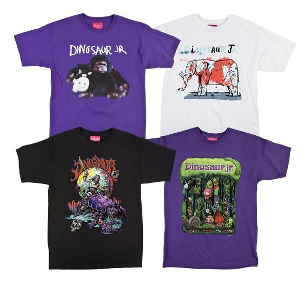 Dinosaur Jr. Mishka T-shirts