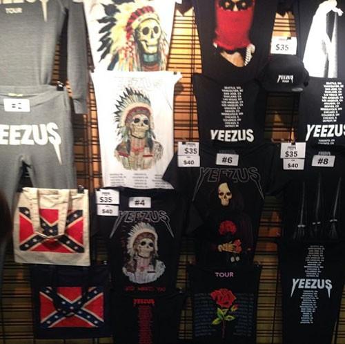 Kanye West Yeezus Tour Merch