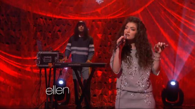 Lorde On Ellen