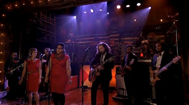 My Morning Jacket, Merrill Garbus, Brittany Howard on Fallon