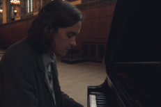 "Watch Moonface's ""Love The House You're In"" Paper Bag Session"