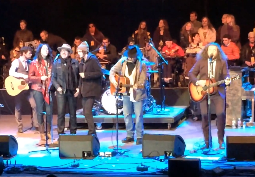 Watch My Morning Jacket Cover The Velvet Underground With Neil Young, Elvis Costello, & Jenny Lewis At Bridge School Benefit 2013