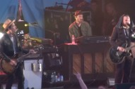 Watch My Morning Jacket And Grizzly Bear Play Times Square For CBGB Fest