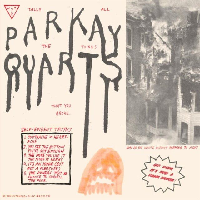 Parquet Courts Tally All The Things That You Broke EP