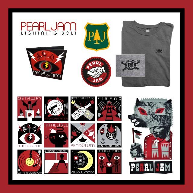 Pearl Jam Prize Pack