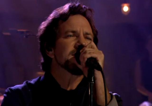 Pearl Jam on Fallon
