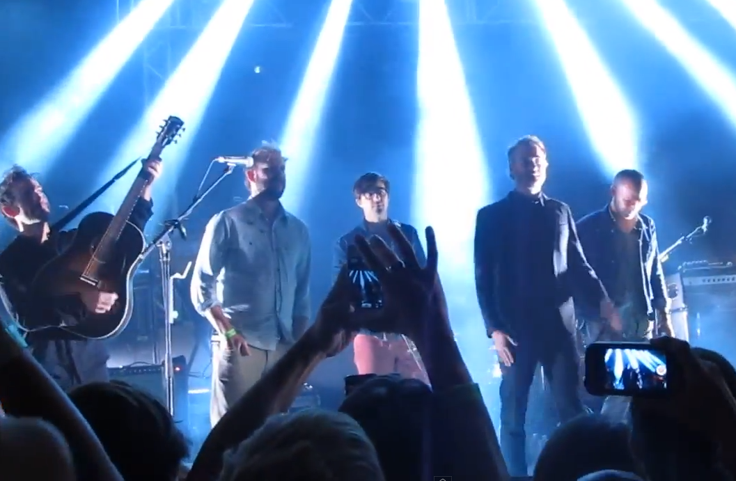 Watch Justin Vernon Join The National In Austin