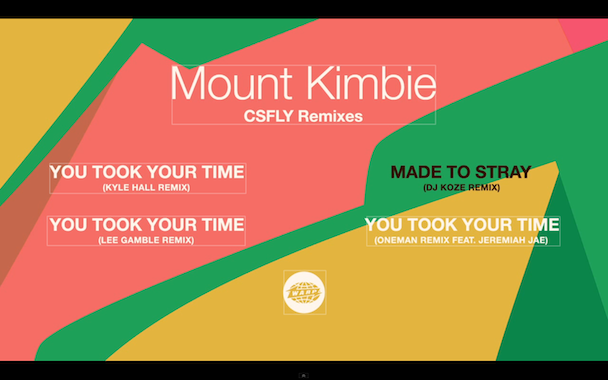 "Mount Kimbie – ""Made To Stray (DJ Koze Remix)"""