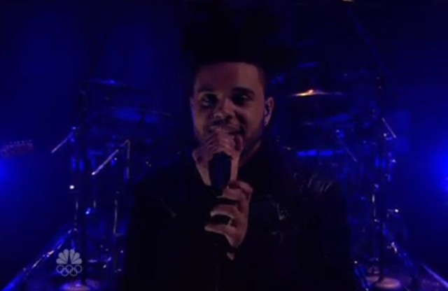 The Weeknd on Fallon