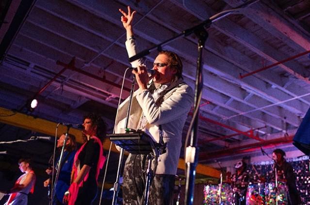 Arcade Fire In Brooklyn 10/18/13
