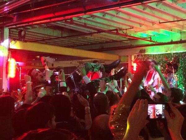 Arcade Fire In Brooklyn 10/19/13